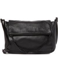 Aimee Kestenberg Aimee Kestenburg Leather Madison Crossbody Bag In Black W/black At Nordstrom Rack
