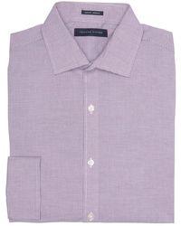 Tommy Hilfiger - Long Sleeve Slim Fit Dress Shirt - Lyst
