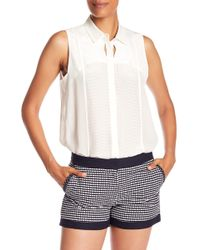Quinn - Chelsea Sleeveless Button Up - Lyst