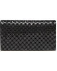Whiting & Davis Travel Wallet - Black