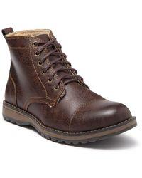 Eastland Jason Cap Toe Boot - Brown