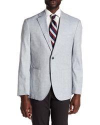Flynt - Bueller Notch Collar Long Sleeve Classic Fit Sport Coat - Lyst
