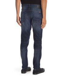 Hudson Jeans Blake Slim Straight Zip Fly Jeans - Blue