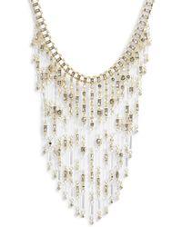 Kendra Scott Maxen Bib Necklace - Metallic