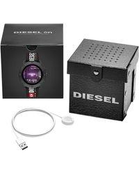 DIESEL Axial Woven Strap Smartwatch - Multicolor