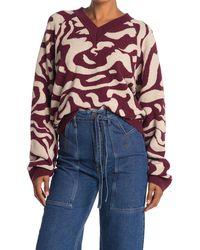 Nanushka Patterned Intarsia V-neck Sweater - Multicolor