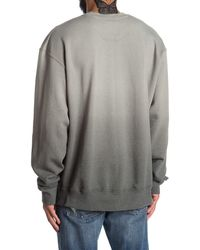 Champion Powerblend Ombre Crew Neck Pullover - Grey