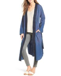Hudson Jeans - Aoki Cotton Kimono - Lyst