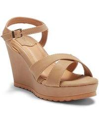 Elegant Footwear - Dennise Wedge Sandal - Lyst