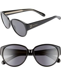 Givenchy 57mm Round Sunglasses - Multicolor