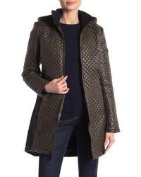 BCBGMAXAZRIA - Missy Mini Quilted Zip Front Jacket - Lyst