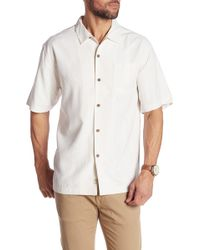 Tommy Bahama - Jingle Bell Dock Short Sleeve Silk Original Fit Shirt - Lyst