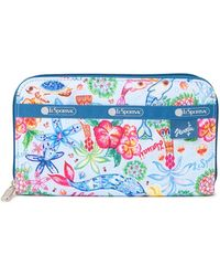 LeSportsac Lily Wallet - Blue