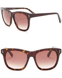 0556210e1e11 Nordstrom Rack · Stella McCartney - 52mm Square Sunglasses - Lyst