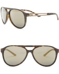 5921f6a39346 Lyst - Versace Women s Ve3236 52mm Optical Frames in Brown