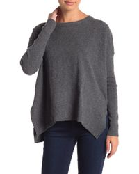 Sweet Romeo - Crew Neck Pullover Sweater - Lyst