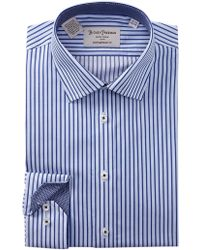 Hickey Freeman - Striped Contemporary Fit Dress Shirt - Lyst