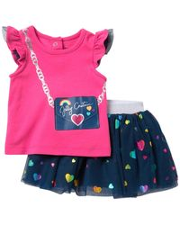 Juicy Couture Top Scooter 2-piece Set (baby Girls) - Multicolor