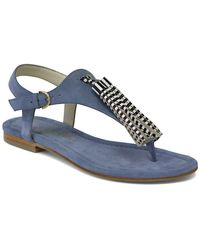 Bettye Muller Concepts Samba Suede Tassel Sandal - Blue