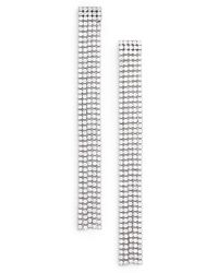Marc By Marc Jacobs - River Cz Dangle Earrings - Lyst