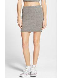 RVCA - Seeway Miniskirt - Lyst