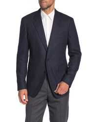 Thomas Pink Bray Wool & Cashmere Blend Suit Separate Jacket - Blue