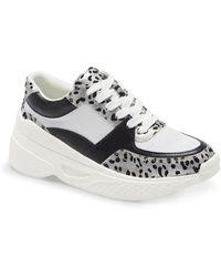 Matisse Sneaky Platform Wedge Sneaker - Gray
