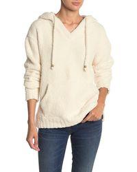 Thread & Supply Connie Fleece Pullover Hoodie - White