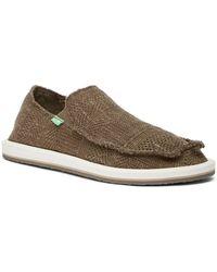 Sanuk - Yew Knit Slip-on Trainer (men) - Lyst