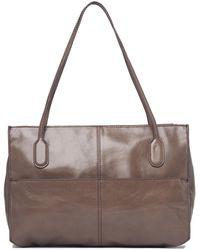 Hobo International Friar Leather Shoulder Bag - Brown