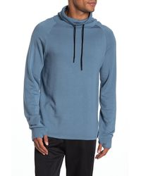 Threads For Thought Wiley Funnel Neck Hoodie - Blue