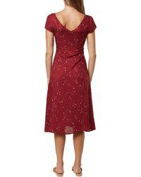 O'neill Sportswear Rina Midi Short Sleeve Dress - Red