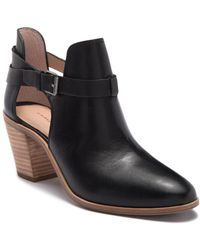 G.H.BASS - Sylvia Ankle Bootie - Lyst