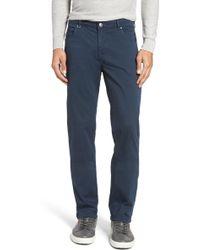 Bugatchi - Slim Fit Five-pocket Trousers - Lyst