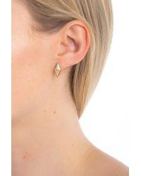 House of Harlow 1960 - The Flip Side Stone Stud Earrings - Lyst