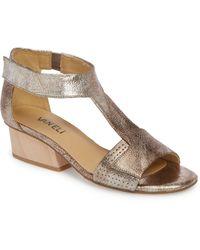Vaneli Calyx Block Heel Sandal - Brown