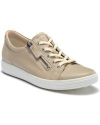Ecco - Soft 7 Side Zip Sneaker - Lyst