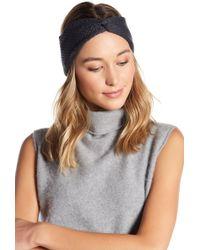 BCBGMAXAZRIA Everyday Solid Twist Headwrap - Gray