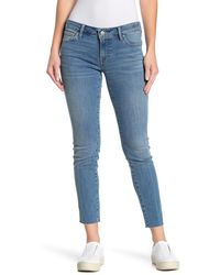 Lucky Brand Low Rise Lolita Skinny Jeans - Blue