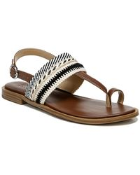 Naturalizer Linnete Toe Loop Sandal - Wide Width Available - Multicolor