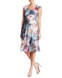 Komarov Bring Her Flowers Dress - Multicolor