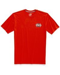 ad3be097c The North Face Bottle Source Poppy Mens T-shirt in Black for Men - Lyst
