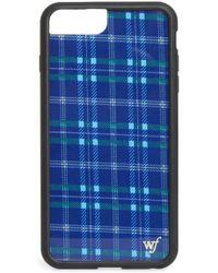 Wildflower - Skool Girl Plaid Iphone 6/7/8 Plus Case - Lyst