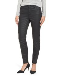 Halogen - Coated Skinny Jeans - Lyst
