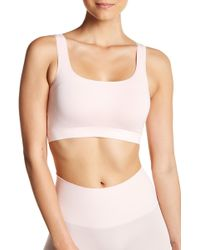 Yummie By Heather Thomson - Tanya Scoop Neck Bra - Lyst