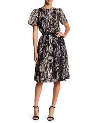 Endless Rose Novelty Mesh Skirt - Black