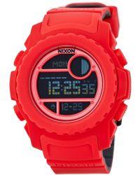 Nixon - Men's Super Unit Digital Watch - Lyst