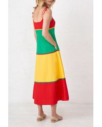 La Ligne Spaghetti Dress - Multicolour