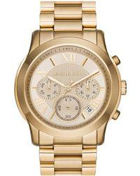 MICHAEL Michael Kors - Women's Cooper Bracelet Watch, 39mm - Lyst