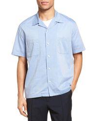 Vince - Cabana Cotton Camp Shirt - Lyst